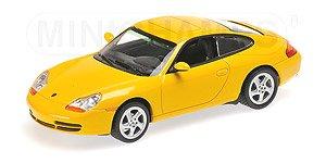 ポルシェ 911 (996) クーペ 1998 イエロー (ミニカー)