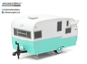 Shasta 15` Airflyte - Sea Foam Green (Hobby Exclusive) (ミニカー)
