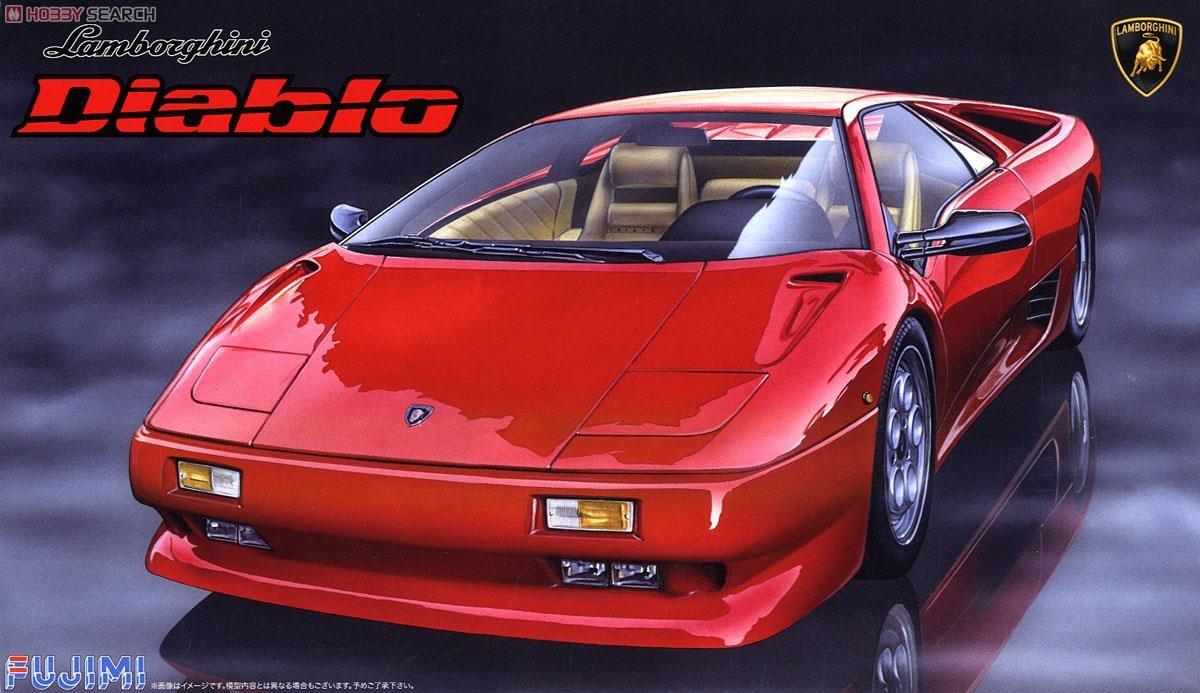 Lamborghini Diablo 4wd Vt Blackstar Model Car Package1