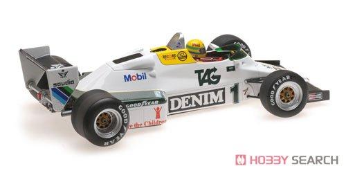 ウィリアムズ フォード FW08C A.セナ ドニントンパーク イングランド 7月19日 1983 セナ・コレクション (ミニカー)