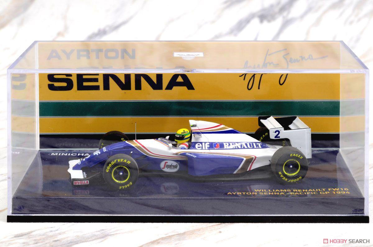 ウィリアムズ ルノー FW16 A.セナ パシフィックGP 1994 セナ・コレクション (ミニカー)
