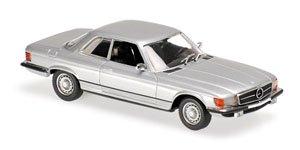 メルセデス ベンツ 450 SLC (R107) 1974 シルバー (ミニカー)