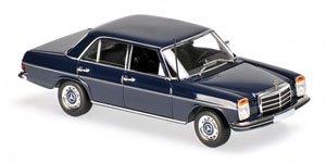 メルセデス ベンツ 200D (W114/115) 1973 ブルー (ミニカー)