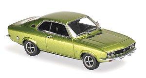 オペル マンタ A 1970 グリーンメタリック (ミニカー)
