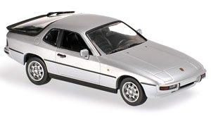 ポルシェ 924 1984 シルバー (ミニカー)