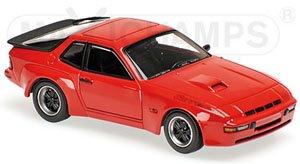ポルシェ 924 GT 1981 レッド (ミニカー)