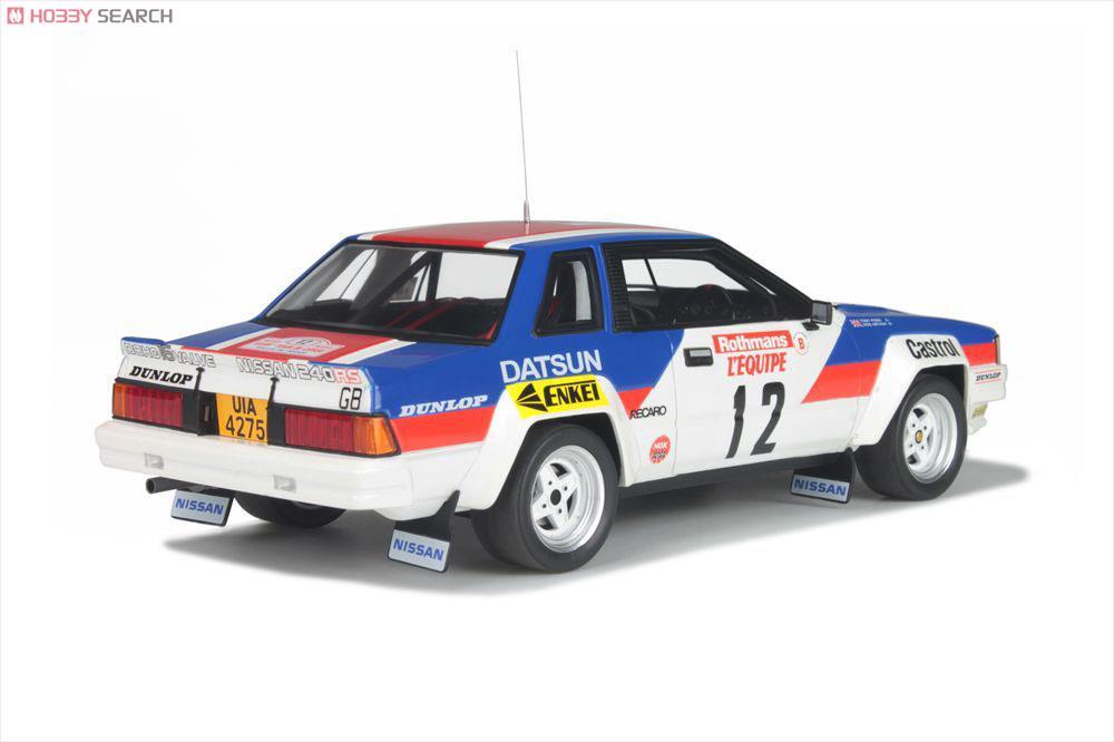 日産 240 RS Gr.B (ブルー/レッド/ホワイト) ツールドコルス 1980 Tony Pond (ミニカー)