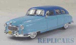 ナッシュ アンバサダー 1950 ライトブルー/ブルー (ミニカー)