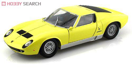 Lamborghini Miura P400 S (yellow) (ミニカー)