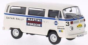 VW T2 サービスバン チーム マルティニ ポルシェ サファリ ラリー 1978 (ミニカー)