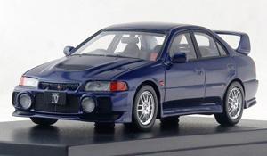 MITSUBISHI LANCER GSR EVOLUTION IV (1996) アイセルブルーパール (ミニカー)