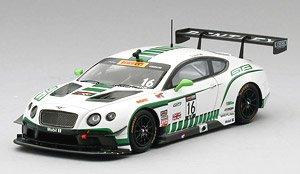 ベントレー GT3 #16 2015 ピレリワールドチャレンジ ロードアメリカ 優勝車 ダイソン・レーシング (ミニカー)