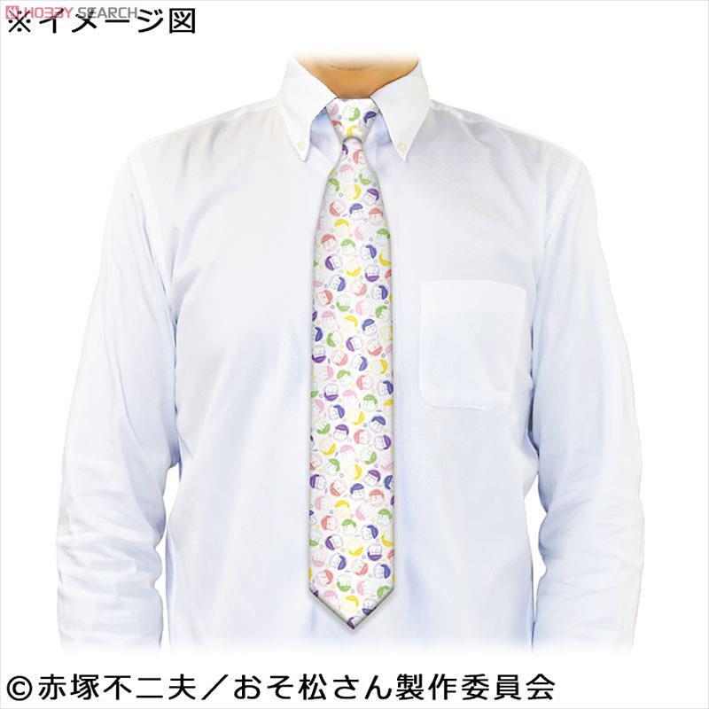 [閉じる] おそ松さん ネクタイ 六つ子柄 (キャラクターグッズ) 商品画像1