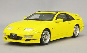 日産 フェアレディZ Version R 2by2 ライトニングイエロー メッシュホイール (ミニカー)