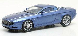 アストン・マーチン DBS クーペ ザガート センチニアル 2013 メタリックブルー (ミニカー)