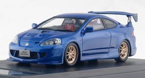 Honda INTEGRA TYPE R 無限 MUGEN (2004) ビビッドブルー・パール (ミニカー)