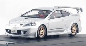 Honda INTEGRA TYPE R 無限 MUGEN (2004) アラバスターシルバー・メタリック (ミニカー)