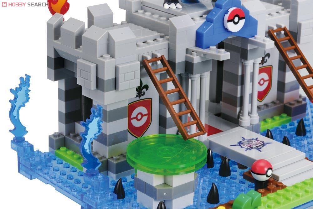 nanoblock+ メガリザードンXの秘密の城 (ブロック)
