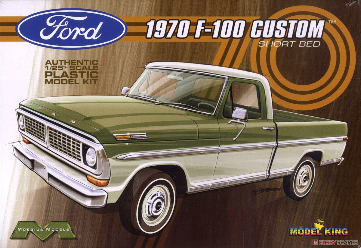 1970 Ford F 100 Custom Short Bed Pickup Model Car Images List F100 Truck Package1