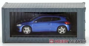 Volkswagen Scirocco R - Blue - 2014 (ミニカー)