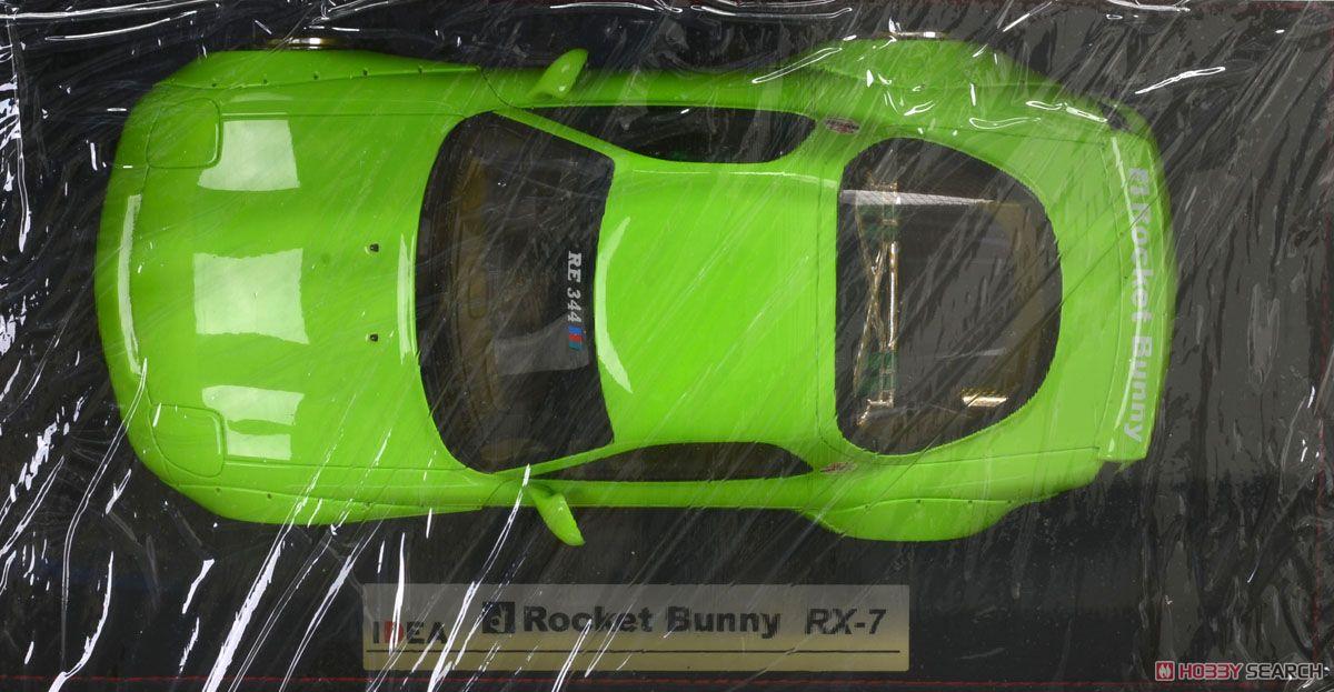 Rocket Bunny RX-7 (FD3S) ライムグリーン  (ミニカー)
