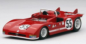 アルファロメオ Tipo 33/3 #55 1971 ブランズハッチ 1000㎞ R.Stommelen/ T.Hezemans (ミニカー)