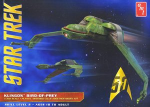Star Trek III: The Search for Spock Klingon Bird of Prey (Plastic model)