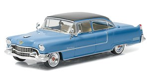 Hollywood - Elvis Presley (1935-77) - 1955 Cadillac Fleetwood Series 60 `Blue Cadillac` (ミニカー)