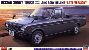 Nissan Sunny Truck (GB122) Long Body Deluxe (Late Type) (Model Car)