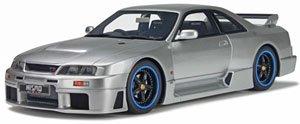 ニスモ GT-R LM (R33) (スパークシルバー) (ミニカー)