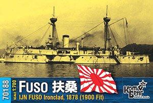 日・甲鉄艦 「扶桑」 1878・近代改修時1900 (プラモデル)