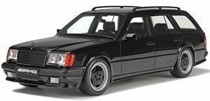 メルセデスベンツ S124 AMG 300 TE (ブラック) (ミニカー)