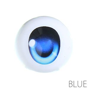 尾櫃瞳 (オビツアイ) Bタイプ 16mm (ブルー) (ドール)