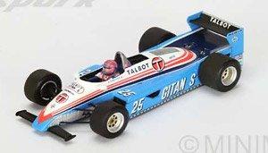 Ligier JS19 No.25 3rd Las Vegas GP 1982 Eddie Cheever (ミニカー)