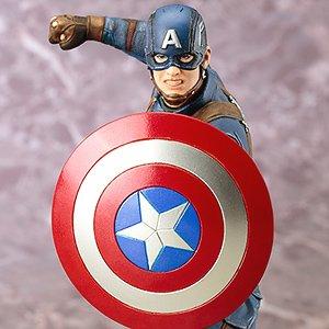 ARTFX+ キャプテン・アメリカ シビル・ウォー (完成品)