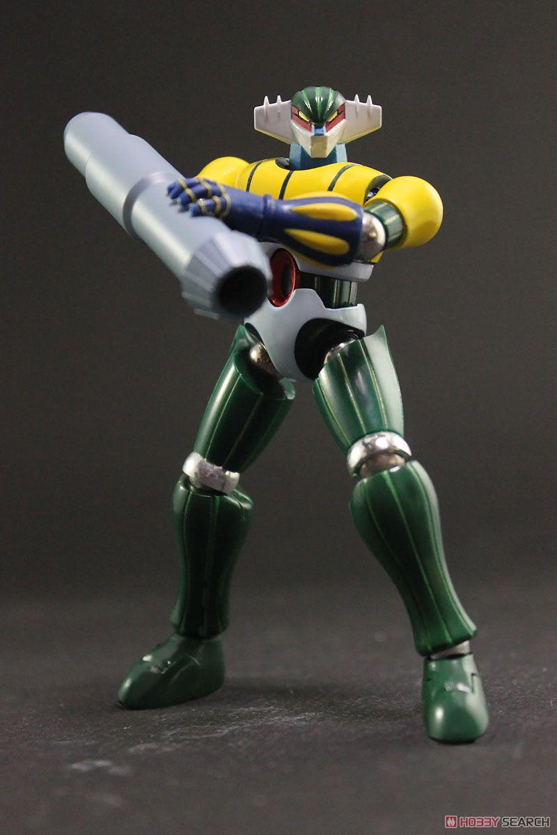 ダイナマイトアクションS! メタル・アクション 鋼鉄ジーグ&パーンサロイド (完成品)