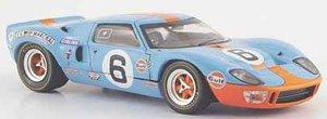 フォード GT 40 1969年ル・マン24時間 Gulf #6 J.Ickx/J.Oliver (ミニカー)