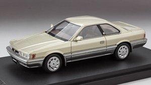ニッサン レパード アルティマ 1986 (F31) ゴールド(M)2トーン (ミニカー)