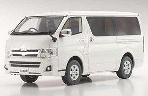 Toyota Hiace Super GL (ホワイト) (ミニカー)