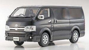 Toyota Hiace Super GL (ブラックマイカ) (ミニカー)