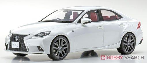 Lexus IS350 F Sport (ホワイトノーヴァガラスフレーク) (ミニカー)