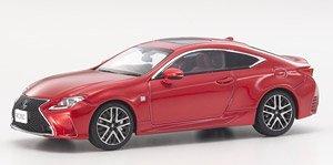 Lexus RC350 F Sport (ラディアントレッドコントラストレイヤリング) (ミニカー)