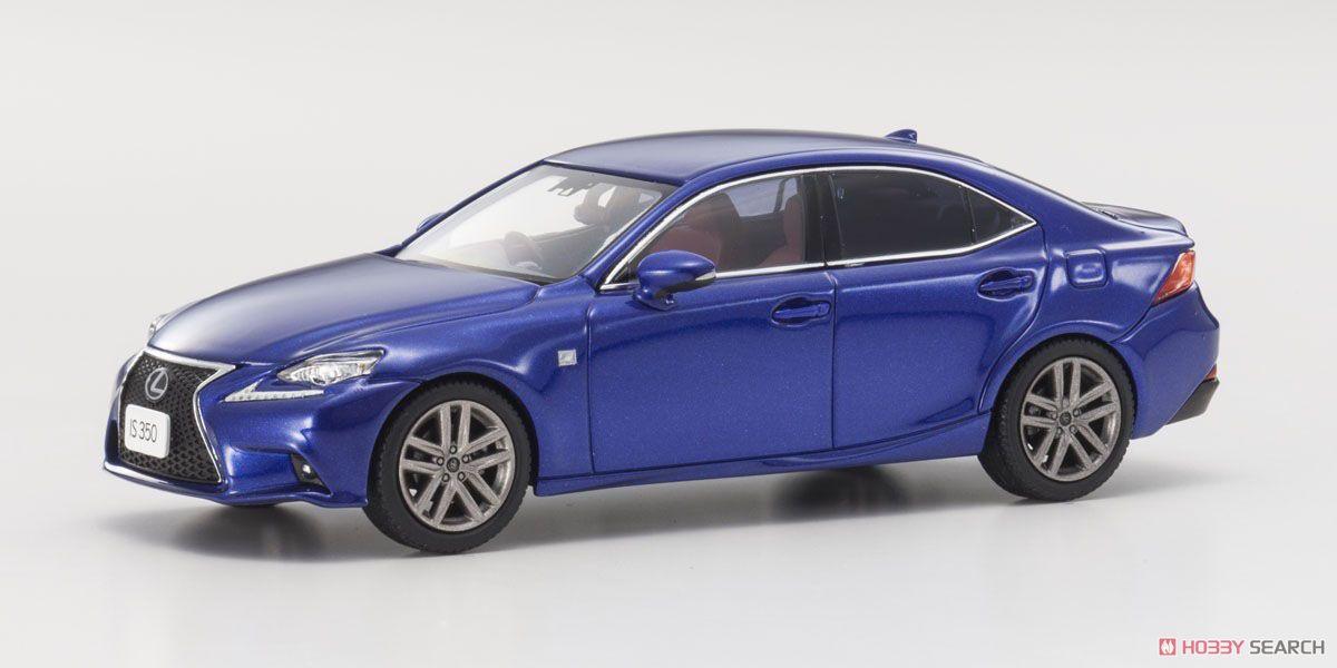 Lexus IS350 F Sport (エクシードブルーメタリック) (ミニカー)
