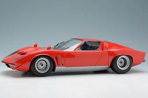 ランボルギーニ JOTA(イオタ) 1969 ブライトレッド (オリジナルイオタ) (ミニカー)