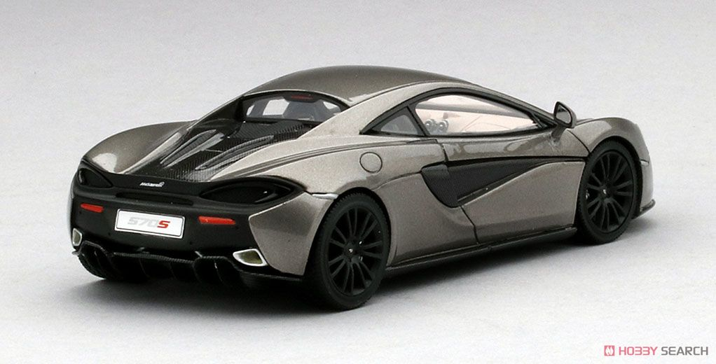 マクラーレン 570S ブレードシルバー レフトハンドルVer. (ミニカー)