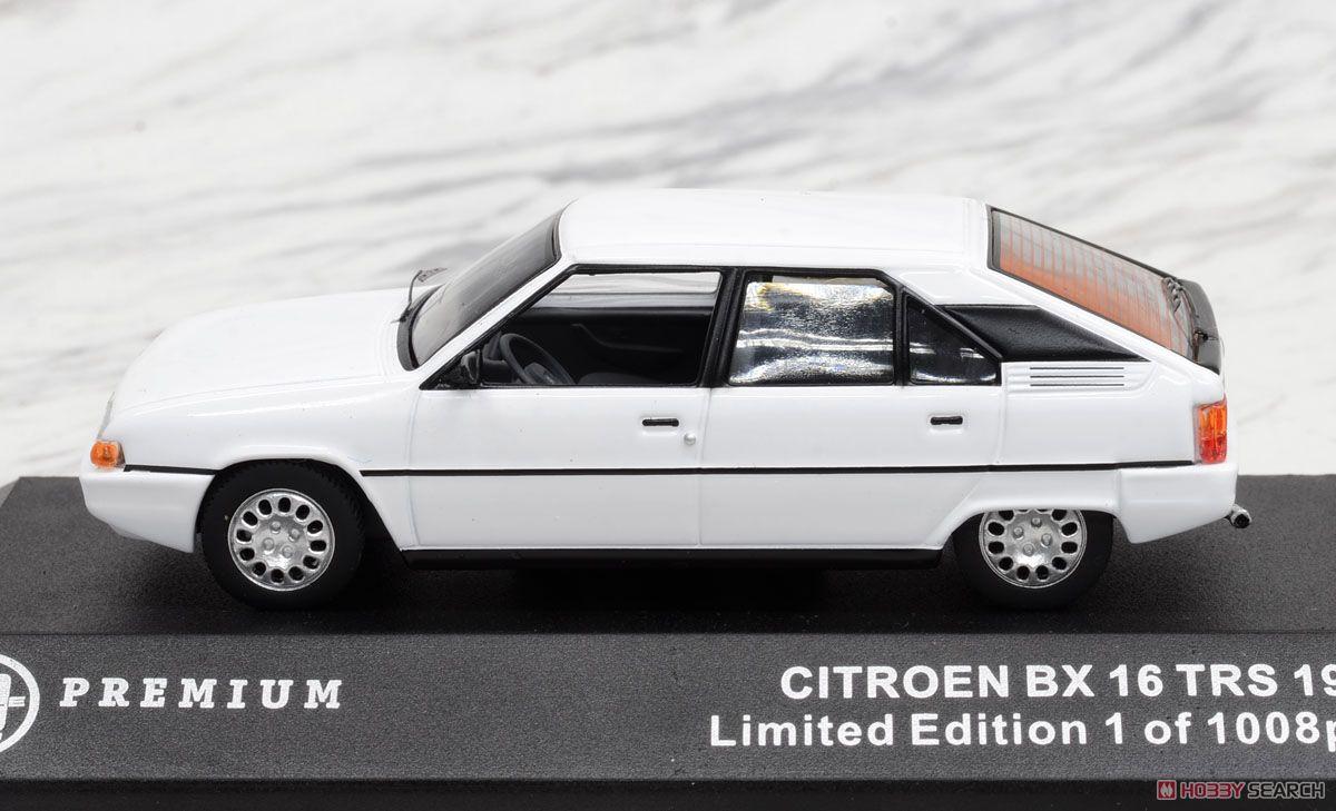 1983 シトロエン BX16 TRS ホワイト (ミニカー)
