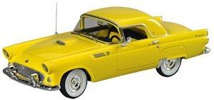 1955 フォード サンダーバード 2ドア クーペ (ゴールデンロッドイエロー) (ミニカー)