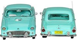 1955 フォード サンダーバード 2ドア クーペ (サンダーバードブルー) (ミニカー)