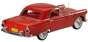 1955 フォード サンダーバード 2ドア クーペ (トーチレッド) (ミニカー)