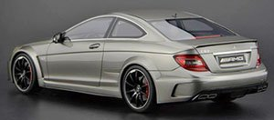 Mercedes Benz C63 AMG black series (アイアングレー) (ミニカー)